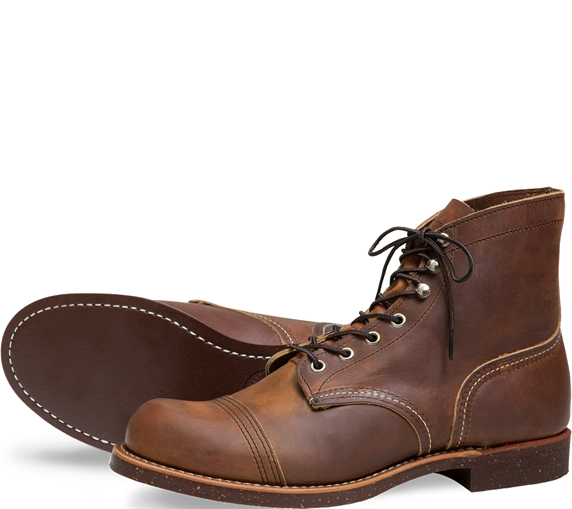 Red Wing Heritage Collection Shoes Richmond Cut Engineer Iron Safety Boots Blue Leather Women039s
