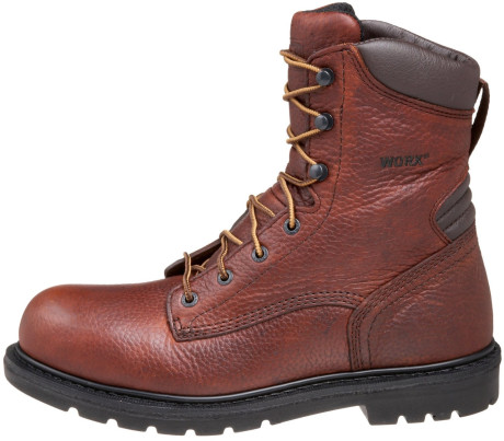 Awesome Red Wing Boots Womens 8 B Brown Ankle Steel Toe By Moivintage