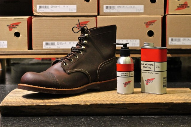 Clean Your Red Wing Boots Red Wing Richmond
