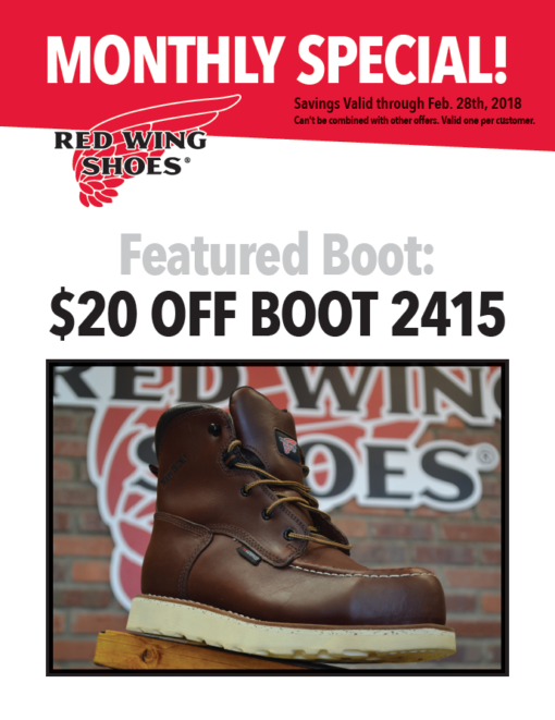 Featured Boot Red Wing Charlottesville
