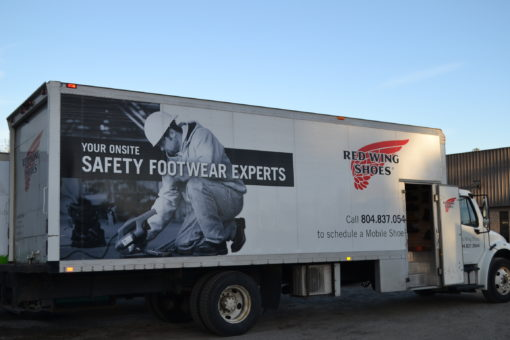 Safety Footwear Program | Mobile Shoe Truck | Red Wing Shoes Richmond